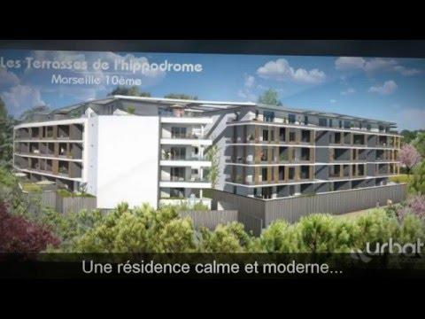 Les Terrasses De L'Hippodrome - Programme Immobilier Neuf Marseille (13010) - URBAT Marseille