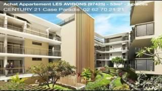 Vente appartement - LES AVIRONS (97425) - 52.75m²